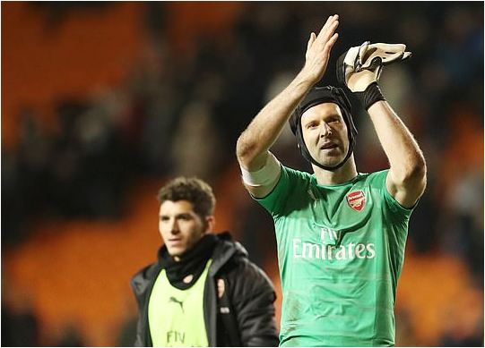 Chelsea Legend And Current Arsenal Keeper Petr Cech, 36