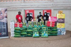 CBG donates food items to over 2000 people
