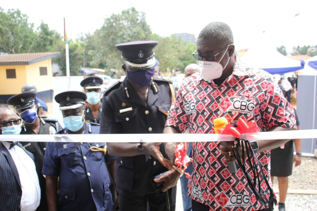 CBG renovates airport district police station