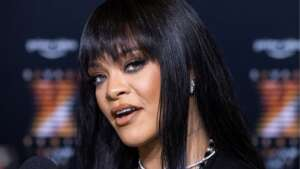Rihanna, pictured last month in New York, is number four despite not releasing a new album since 2016-REUTERS